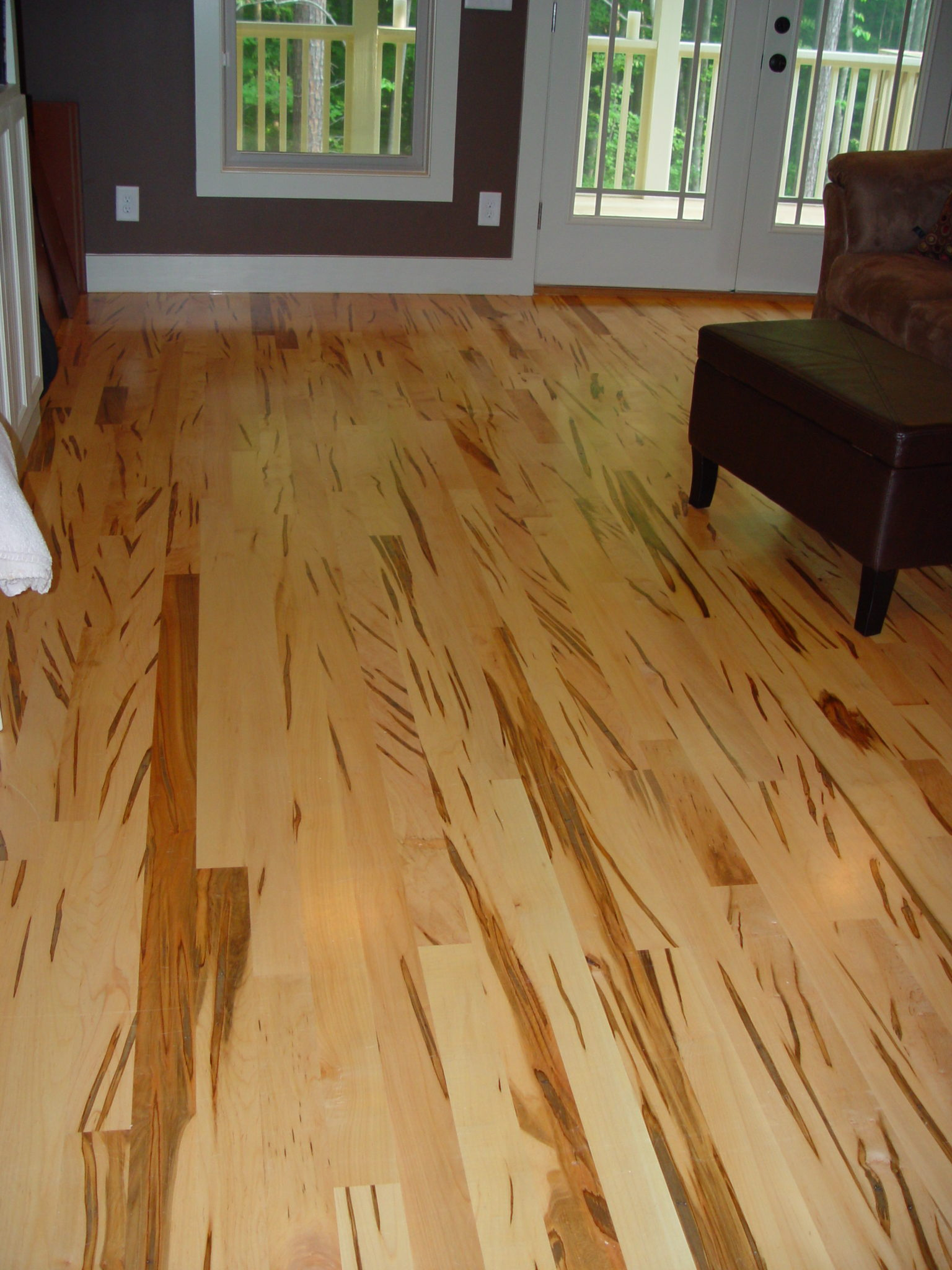 Wormy Maple Accent Hardwood Flooring